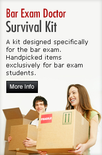 Bar Exam Doctor Survival Kit